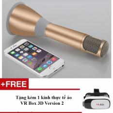 Mã Khuyến Mại Micro Kem Loa Hat Karaoke K068 Tặng 1 Kinh Thực Tế Ảo Vr Box 3D Version 2 Trong Hà Nội