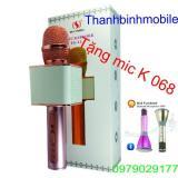 Mua Micro Kem Loa Karaoke Bluetooth Ys 11 Vang Tặng Micro K068 Vang Oem Nguyên