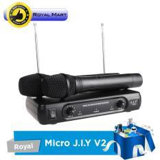 Mua Micro Khong Day Karaoke J I Y V2 Micro Khong Day Cao Cấp Đen Hang Phan Phối Chinh Thức Trực Tuyến Rẻ
