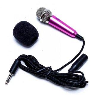 Micro mini hát Karaoke trên điện thoại b1 (Hồng) Dũng thumbnail