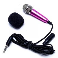 Hình ảnh Micro mini hát Karaoke trên điện thoại (Hồng)