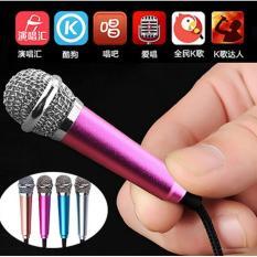 Micro mini hát Karaoke trên điện thoại(màu tùy ý)  xem video