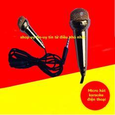 Micro mini hát Karaoke trên điện thoại(màu tùy ý)
