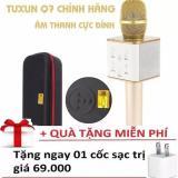Mua Micro Q7 2017 Hat Karaoke Kiem Loa Blutooth Củ Sạc Đa Năng New 2017 Hà Nội