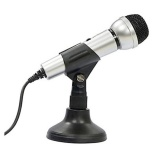 Microphone Cho May Tinh Salar M9 Đen Rẻ