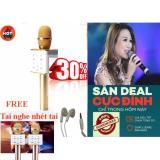 Giá Bán Microphone Karaoke Bluetooth Q7 3 In 1 Vang Tai Nghe Nhet Tai Rẻ Nhất