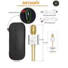 Ôn Tập Microphone Karaoke Bluetooth Royalmic Q9 Mau Sắc Ngẫu Nhien Royalmic
