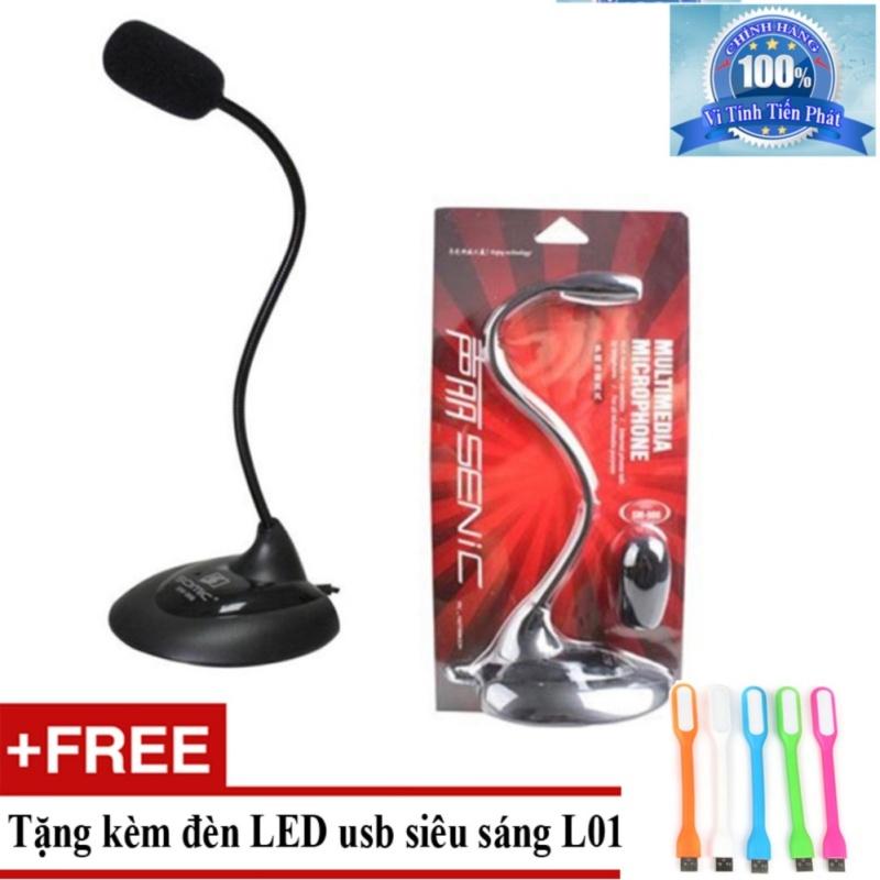 Bảng giá Microphone Senicc SM-008 + Tặng đèn LED usb L01 Phong Vũ