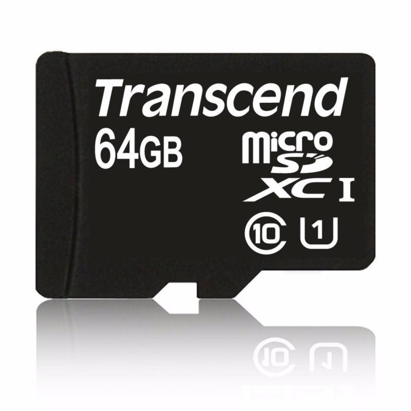 MicroSD Transcend Class 10 64GB (Đen 64GB)