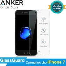 Cửa Hàng Miếng Dan Cường Lực Anker Glassguard Cho Iphone 7 Trong Suốt Hang Phan Phối Chinh Thức Rẻ Nhất