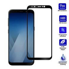 Miếng dán full màn hình 5D cho Samsung Galaxy A8 Plus (2018) - Đen
