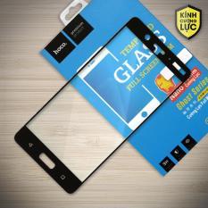Hình ảnh Miếng dán màn hình cường lực Nokia 8 Full hiệu HOCO Đen)