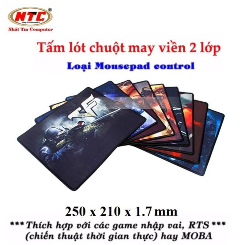 Giá Miếng lót chuột chơi game Logilily L11 - Loại Mousepad Control (Hình game ngẫu nhiên)