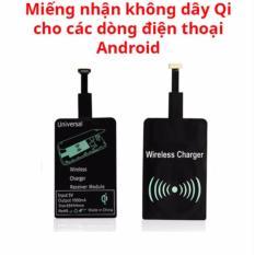 Hình ảnh Miếng nhận sạc không dây Qi cho điện thoại Android