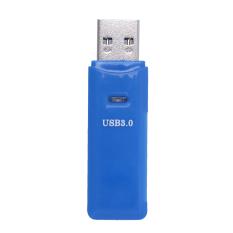 MINI 5 Gbps 2in1 Tốc Độ Cao USB 3.0 Micro SD SDXC Card Đọc Thẻ TF (Xanh Dương)-quốc tế