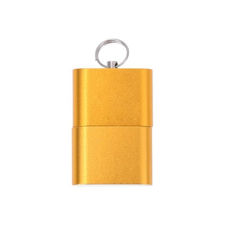Bảng giá Mini Hợp Kim Nhôm USB 2.0 t Đèn Flash TF Micro SD Adapter Đọc (Vàng) (Vàng)-quốc tế Phong Vũ