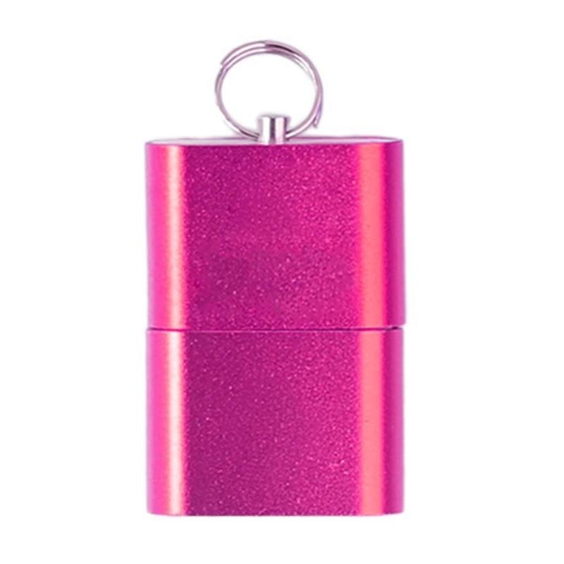 Bảng giá Mini Aluminium Alloy USB 2.0 T Flash TF Micro SD Memory Card Reader Adapter(Rose) - intl Phong Vũ
