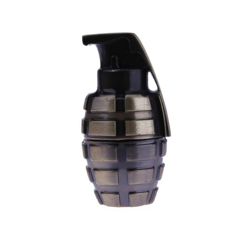 Bảng giá Mini Portable Metal Shell Grenades Shape USB 2.0 Port Flash Drive Memory(Black)-4G - intl Phong Vũ