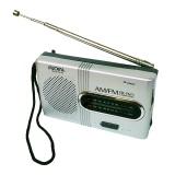 Mini Portable Pocket AM FM Telescopic Antenna Radio World Receiver Speaker FM 88-108MHz AM 530-1600KHz BC-R21 - intl