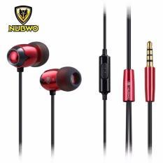 Giá Bán Mới Nubwo Nj211 Tai Nghe Nhet Tai In Ear Bass Nubwo Nj211 Đỏ Đen Nubwo Mới