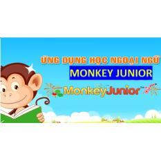 Hình ảnh Monkey Junior - phần mềm học tiếng Anh cho bé từ 1 đến 10 tuổi - gói đa ngôn ngữ 2 năm sử dụng (Tặng 1 miếng dán điện thoại Hàn Quốc Chac)