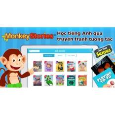 Hình ảnh Monkey Stories - chương trình học tiếng Anh bằng truyện tranh tương tác cho bé từ 2 đến 15 tuổi - Gói sử dụng 1 năm (Tặng 1 miếng dán điện thoại Hàn Quốc CHAC)