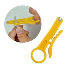Hình ảnh Moonar 2Pcs/set Plastic CAT-5, CAT-5e and CAT-6 Data Cable Wire Cutter Stripper Tool - intl