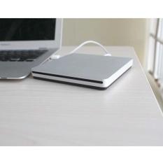 Hình ảnh Moonar Mới Siêu Mỏng Gắn Ngoài USB 2.0 CD-ROM CD/DVD Quang Trình Điều Khiển cho MÁY TÍNH Laptop-quốc tế