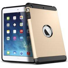 Hình ảnh Moonar Chống Sốc Giáp Hydrid Ốp Lưng Ốp Lưng cho iPad Mini 2 (Vàng)
