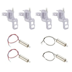 Hình ảnh Moonar Syma X5 X5C-1 X5C 4PC Set Clockwise+Anti-clockwise Motor with Brass Gear And Engine Base Cover - intl