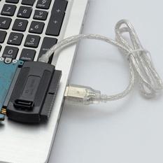 Hình ảnh Moonar USB 2.0 sang IDE SATA 2.5 3.5 Converter Bộ Chuyển Đổi Cáp-quốc tế