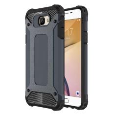 Cửa Hàng Mooncase Hybrid Full Body Heavy Duty Armor Case Dual Layer Shock Absorbing Tpu Protective Case Cover For Samsung Galaxy J7 Prime Dark Blue Intl Rẻ Nhất