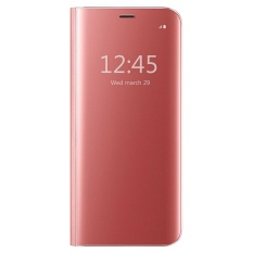 Ôn Tập Mooncase Samsung Galaxy A7 2017 Case Pro Flip Specular Mirror Protective Cover Case With Smart Sleep Rose Gold Intl Trung Quốc