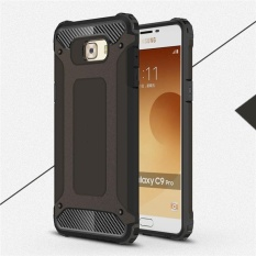Bán Moonmini For Samsung Galaxy C9 Pro Hybrid Hard Pc Soft Tpu Combo Armor Shockproof Phone Back Case Black Intl Moonmini Có Thương Hiệu