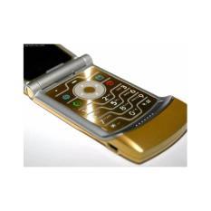 Bán Motorola V3I Hang Tieu Chuẩn Main Zin Man Hinh Zin Hang Xuất Mau Vang Kem Pin Sạc Theo May Rẻ Trong Hồ Chí Minh