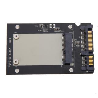 Crystalawaking Card đổi định dạng ổ cứng mSATA SSD sang 2.5 SATA - quốc tế thumbnail