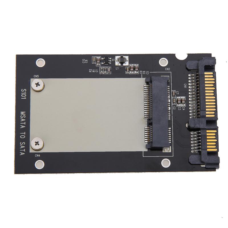 Bảng giá Card đổi định dạng ổ cứng mSATA SSD sang 2.5\ SATA - quốc tế Phong Vũ