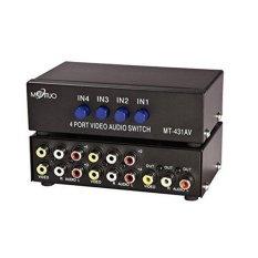 Giá Bán Mt 431Av 4 Av Chuyển Rca Switcher 4 Vao 1 Ra Video Tổng Hợp L R Am Thanh Chọn Lọc Quốc Tế Trực Tuyến