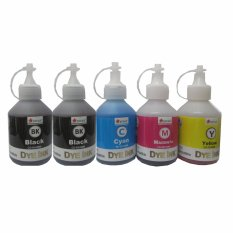 Hình ảnh Mực in phun 5 màu 2 đen, xanh, đỏ, vàng Estar (CD-K0100M, C0100M, M0100M,Y0100M) cho máy Canon 6560, 6870, 6770, 7270