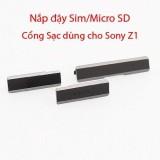 Giá Bán Nắp Đậy Sim Mirco Sd Cổng Sạc Dung Cho Sony Z1 Đen Sony Tốt Nhất