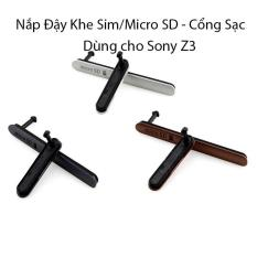 Bán Nắp Đậy Sim Mirco Sd Cổng Sạc Dung Cho Sony Z3 Nguyên