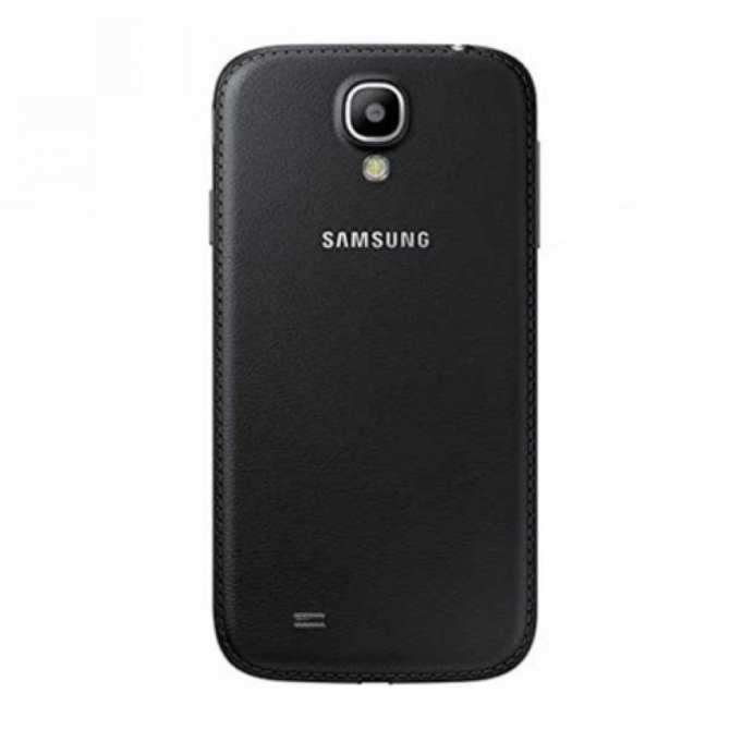 Hình ảnh Nắp lưng da cho Samsung Galaxy S4 i9500 (Đen) - Hàng nhập khẩu(Đen)