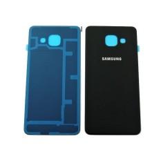 Nắp lưng thay thế cho Samsung Galaxy A3-2016 (Đen) - Hàng nhập khẩu
