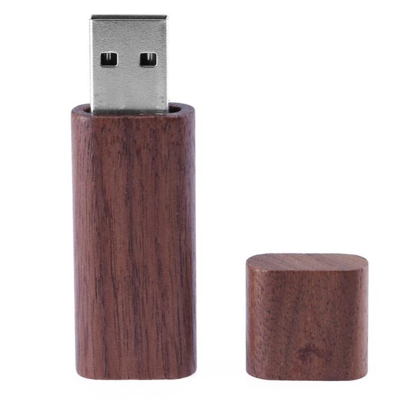 Bảng giá Natural Walnut Case USB2.0 Port Flash Memory Disk with Wooden Package Box(Brown)-4G - intl Phong Vũ