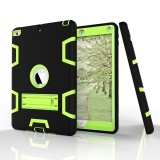 Chiết Khấu Three Layer Kickstand Armor Defender Heavy Duty High Impact Resistant Shock Absorption Full Body Rugged Hybrid Protective Case For Apple New Ipad 9 7 Inch Intl Sumicline