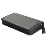 New Portable 80 Disc CD VCD DVD Storage Bag Wallet Holder Case Box Black