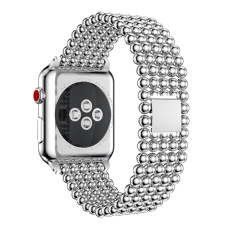 Hình ảnh New Stainless Steel Watch Band Replacement Strap For Apple Watch Series 3 42MM - intl