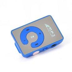 Mua Baru Kualitas Tinggi Cermin Gaya Mini Klip Mp3 Card Reader Mp3 Pemain Musik Dukungan Kartu Micro Sd Tf 6Warnd Mp3 Player Biru Trực Tuyến Trung Quốc