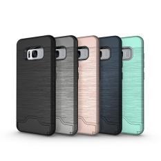 Giá Bán Tuyệt Vời Cong Suất Nong Chống Sốc Chải Thẻ Bỏ Tui Chan Đế Lai Bao Da Bảo Vệ Danh Cho Iphone 7 Plus Đen Oem Trực Tuyến