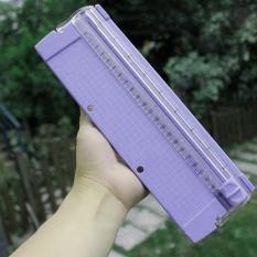 Hình ảnh Newworldmall A4 Paper Card Trimmer Ruler Photo Cutting Blade Cutter Guillotine Arts Crafts - intl